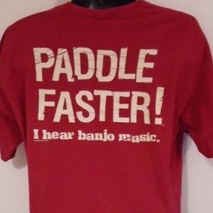 Nantahala River Funny Kayak Canoe T-Shirt XL